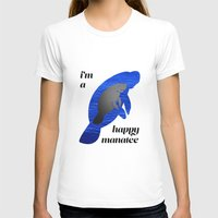 manatee T-shirts featuring manatee by Bryce Castille Media