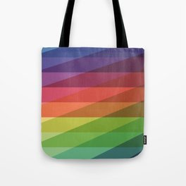 Fig. 040 Rainbow Stripes Tote Bag