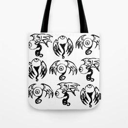 Fleye Pattern Tote Bag