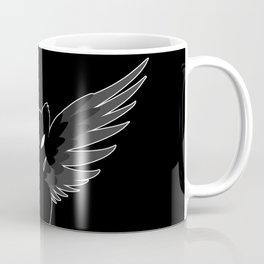 On Raven's Wings Coffee Mug