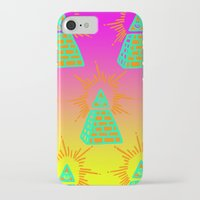 all seeing eye iPhone & iPod Cases featuring All Seeing Eye by Eyewax International