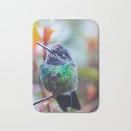 Pom Pom Hummingbird Bath Mat