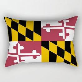 Maryland state flag Rectangular Pillow