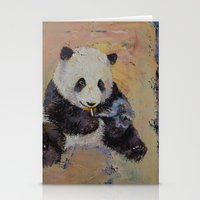 cigarette Stationery Cards featuring Cigarette Break by Michael Creese