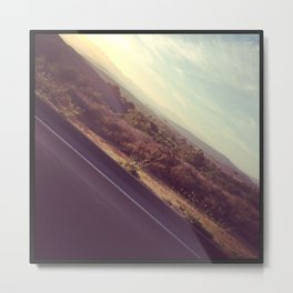 On The Road, Again Metal Print