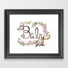 Hello Baby Framed Art Print