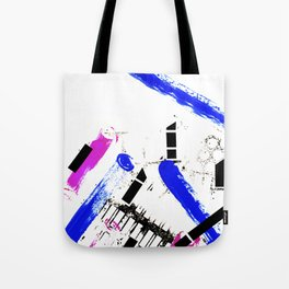 Unstoppable Dynamic Colors Tote Bag