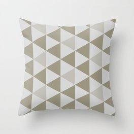 Great Triangle Pattern Throw Pillow