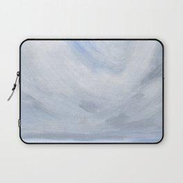 Unclear - Moody Gray Ocean Seascape Laptop Sleeve