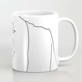 Feminine Floral Back Tat V2 Coffee Mug