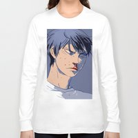 haikyuu Long Sleeve T-shirts featuring curly frie 2.2 by Greyson J