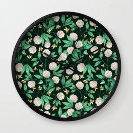 Clover Patch Wall Clock
