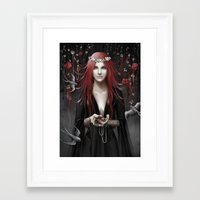 passion Framed Art Prints featuring Passion by Nicolas Jamonneau