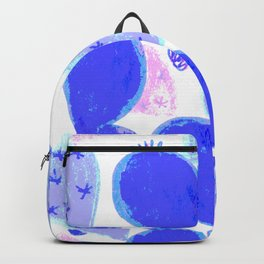 Sparkle cactus blue Backpack