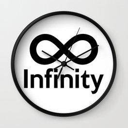 Infinity (Logo) Wall Clock