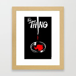 The Thing Framed Art Print
