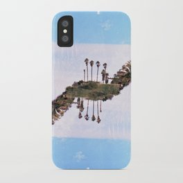 Landscapes c2 (35mm Double Exposure) iPhone Case