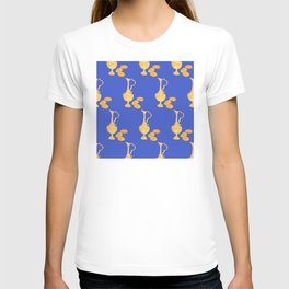 Hanukkah Festival Of Lights Oil Jug & Gelt Pattern T-shirt