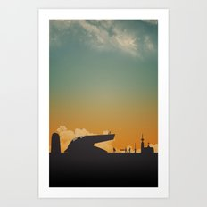 Goodnight Scoundrel Art Print