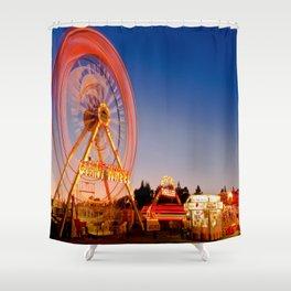 Giant Wheel Shower Curtain