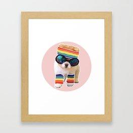 Pom Fabulous Framed Art Print
