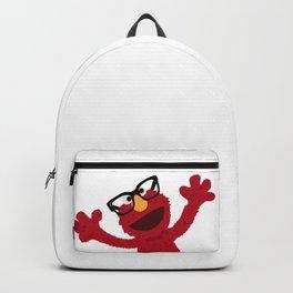 Hipster Elmo Backpack