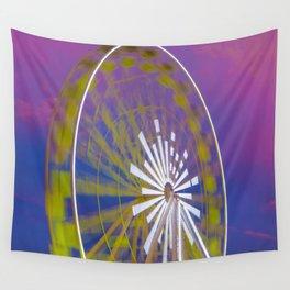 Ferris Wheel Wall Tapestry