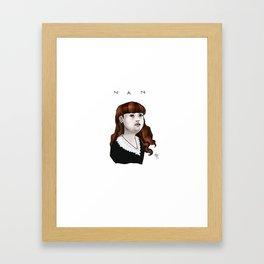 Nan Framed Art Print