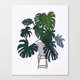 Plant Love Canvas Print