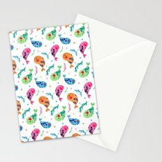 The Happy Fish Pattern Stationery Cards