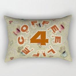 Coffee 4 Life Rectangular Pillow