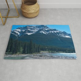 Rocky Riverbed - Athabasca River Rug