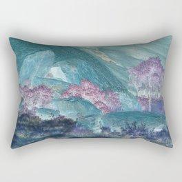 Crystal Deserts Rectangular Pillow