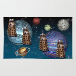 March Of The Daleks Rug