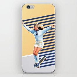 Skate Like a Girl 02 iPhone Skin