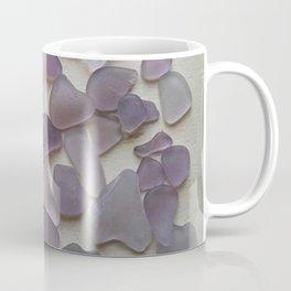 Genuine Purple Sea Glass Collection Coffee Mug