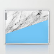 Marble and Blue Laptop & iPad Skin
