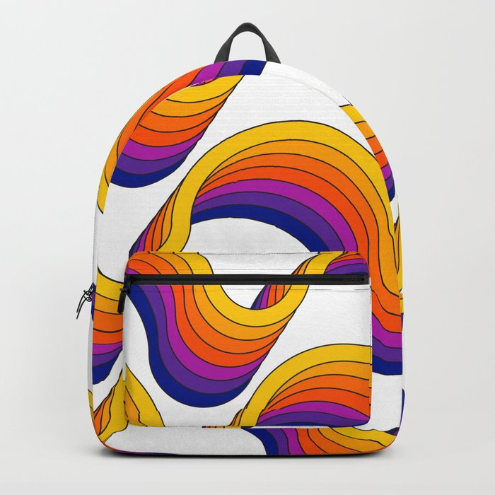 Rainbow Ribbons Backpack