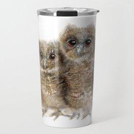 Baby Owls Travel Mug