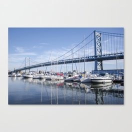 No Sail Canvas Print