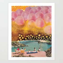 The Pink Art Print