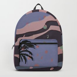 Autumnal Air around the Palm Tree Backpack
