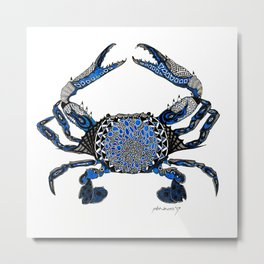 Ol' Blue Metal Print