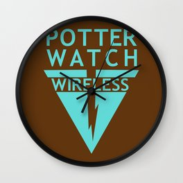 Potterwatch Wireless Wall Clock