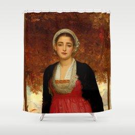 "Frederic Leighton ""Amarilla"" Shower Curtain"