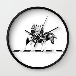 ZEBRO BLASTER Wall Clock