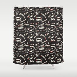 Monster Mouths Shower Curtain