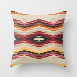American Native Pattern No. 178 Throw Pillow