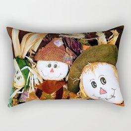 Scarecrow Selfie Rectangular Pillow
