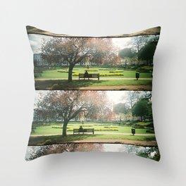 Imagination Garden Throw Pillow